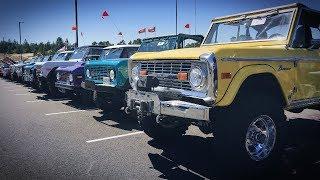 Как я проснулся на парковке. Сходка Форд Бронко 60-х годов. Northwest Bronco Roundup.