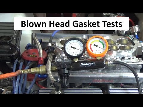 Avoid Getting Ripped Off - Testing For a Blown Head Gasket, Leak Down Test, Warning Signs