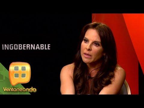 Kate del Castillo, ¿verdaderamente ingobernable?  Ventaneando