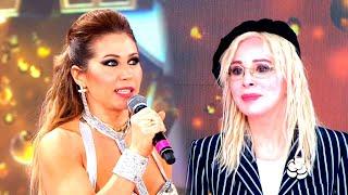 Adabel Guerrero volvió a la pista de Cantando 2020 tras haber insultado a Nacha Guevara
