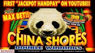 *JACKPOT HANDPAY* - CHINA SHORES DOUBLE WINNINGS |MAX| MEGA HUGE SLOT WIN! - Slot Machine Bonus