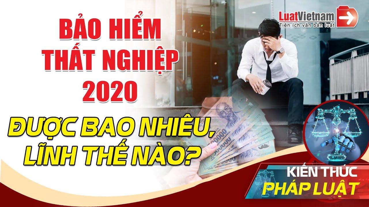 Bảo Hiểm Thất Nghiệp 2020 Được Bao Nhiêu, Lĩnh Thế Nào?  LuatVietnam