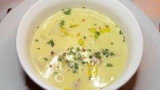 Молочный суп с рыбой (Чувашское блюдо)