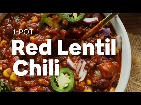 1-Pot Red Lentil Chili | Minimalist Baker Recipes