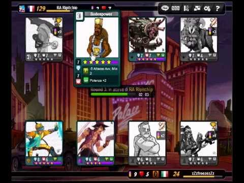 Urban Rivals - Lvl 40 Vs Lv 100,102,104,111,113,129!! all wins
