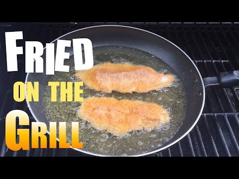 Frying Catfish On The Grill! :-)