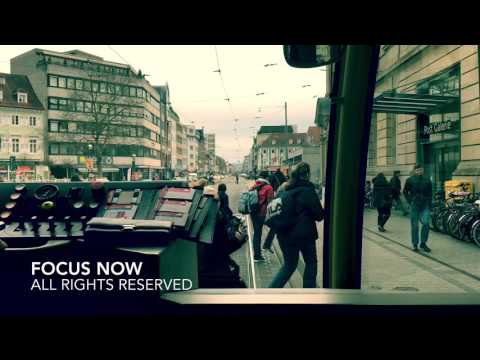Traveling Trams! in the beautiful city of Karlsruhe Germany: 4K to 1080P