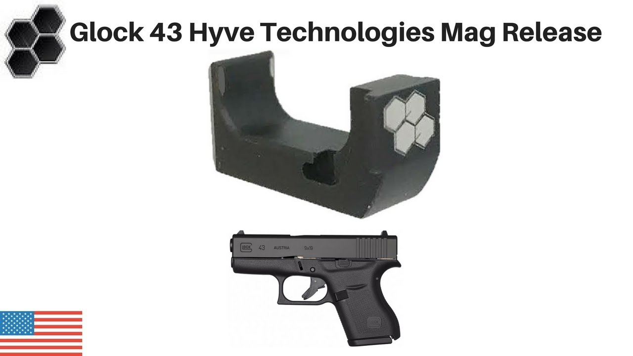 Glock 43 Hyve Magazine Release Install and Review