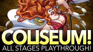 COLISEUM MARIGOLD! STAGES 1 - 5 PLAYTHROUGH! (One Piece Treasure Cruise - Global)