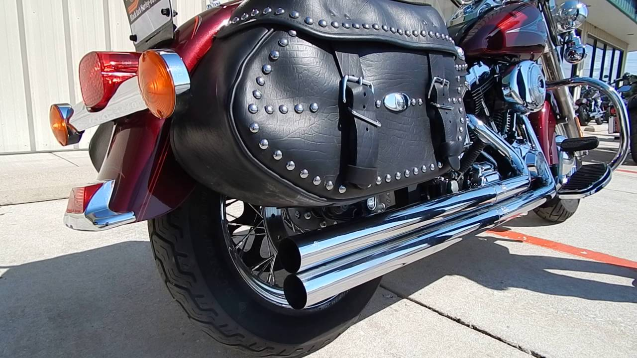 2000 Harley-Davidson® FLSTC - Heritage Softail® Classic Rich Red