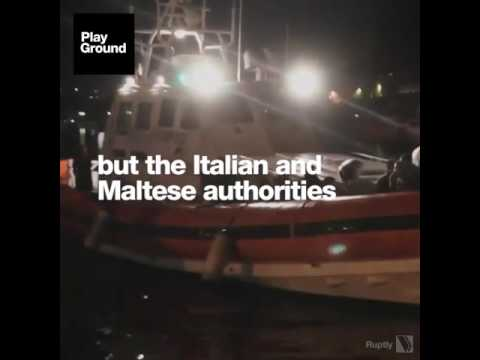 268 Syrians died because the Italian coastguard ignored their SOS call.