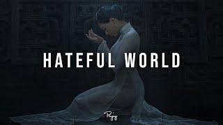 """Hateful World"" - Piano Rap Beat   Free R&B Hip Hop Instrument…"