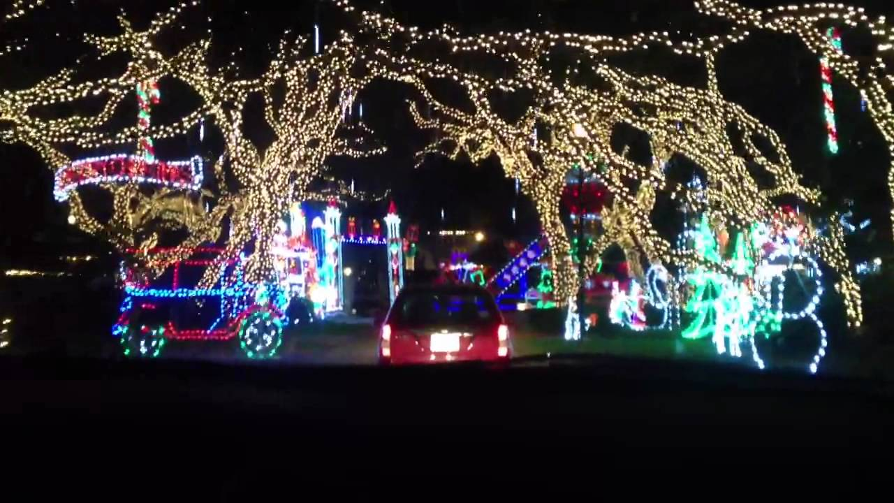 Christmas Lights in Jupiter, FL - YouTube
