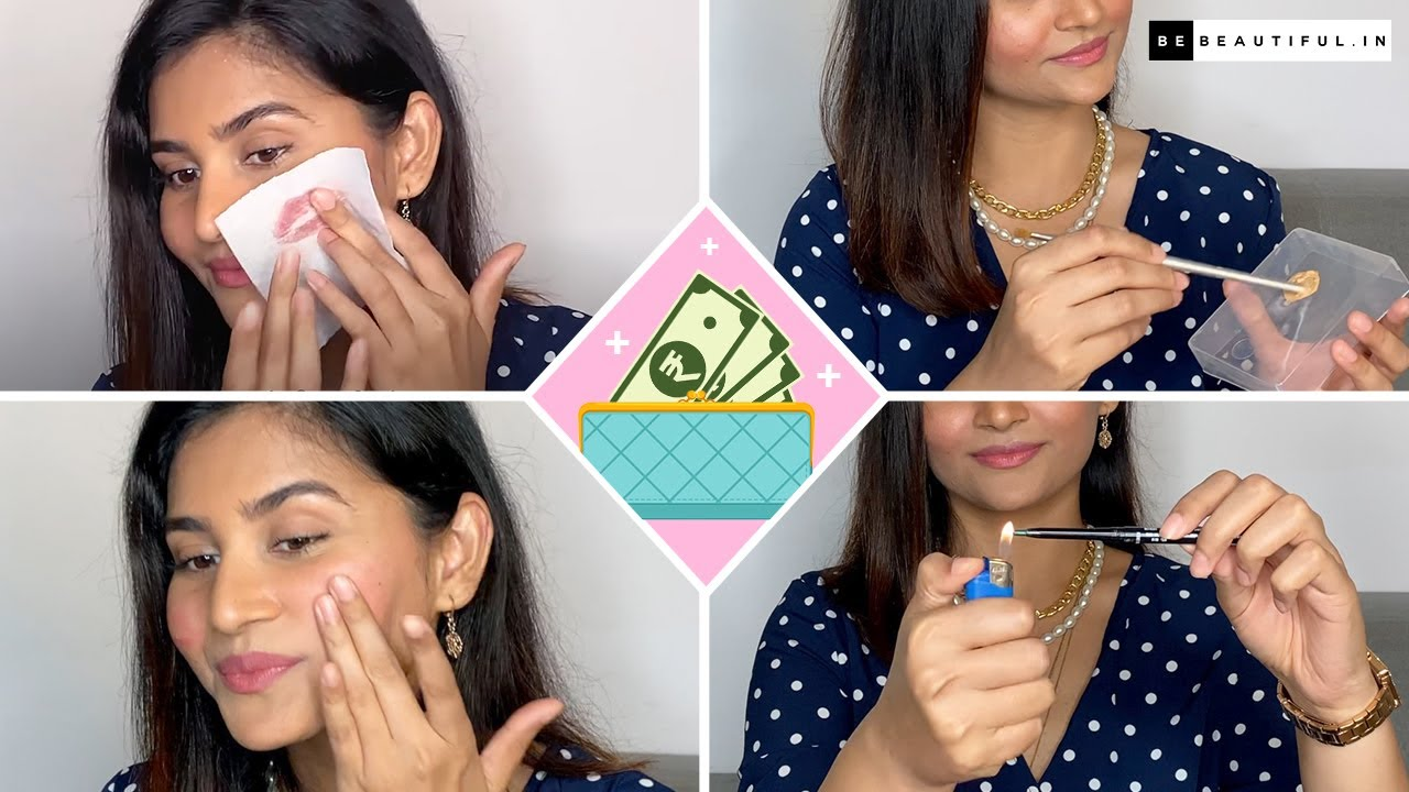 10 Money SAVING Makeup Hacks Every Girl Should Know  Beauty Tips & Tricks   Be Beautiful