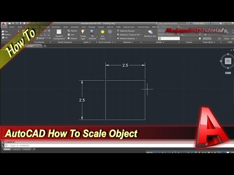 AutoCAD How To Scale