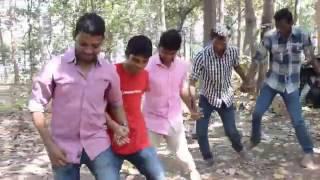 sanju RedMob IN nagpuri chain dance in sandhya rani  nagpuri new song