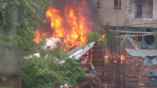 At least five killed in chartered plane crash in India's Mumbai