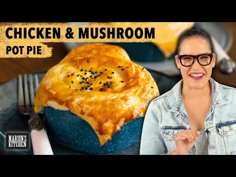 CREAMY Chicken Miso Mushroom Pot Pies | #CookWithMe | Marion's Kitchen