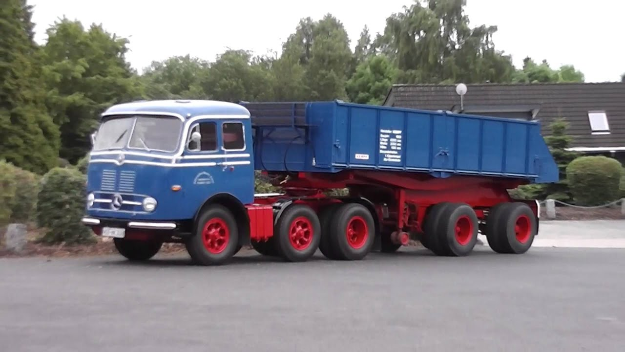 Max Power Cars Wallpaper Old Truck Of Mercedes Benz The Lps 333 In Hd Youtube