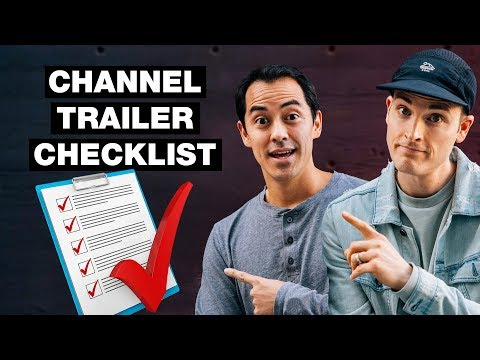 How to Make a YouTube Channel Trailer — 6 Step Checklist