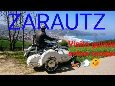 Conoce ZARAUTZ en MOTO. Visita los mejores lugares con Motódiogenes Rider