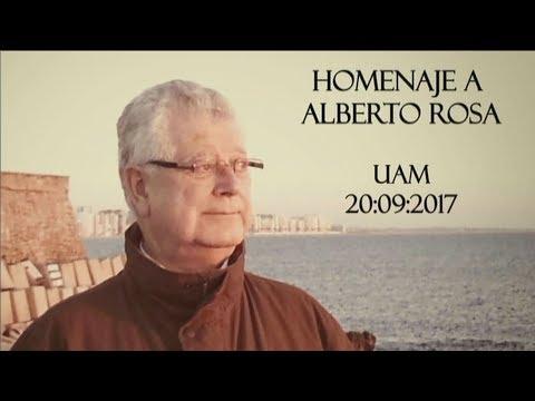Acto de homenaje al Catedrático Alberto Rosa Rivero