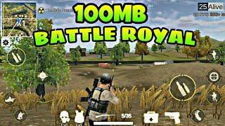 NEW TOP 5 BATTLE ROYAL GAMES UNDER 100MB | GAMES LIKE PUBG & FORTNITE