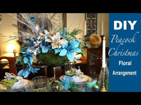Holiday floral arrangement youtube for House music arrangement