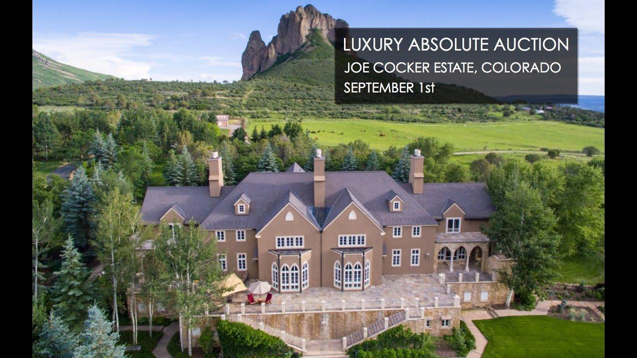 Joe Cocker Colorado Mansion With Ranch For Sale [240 Acres]   YouTube