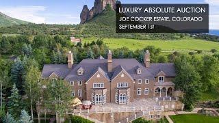 Joe Cocker Colorado Mansion With Ranch For Sale [240-Acres]