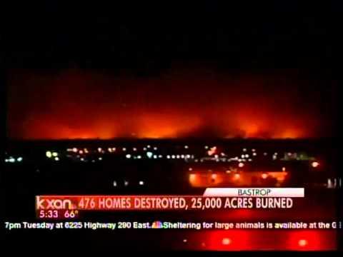Bastrop Fire Update At 5:33 A.m. Tuesday, Sept. 6
