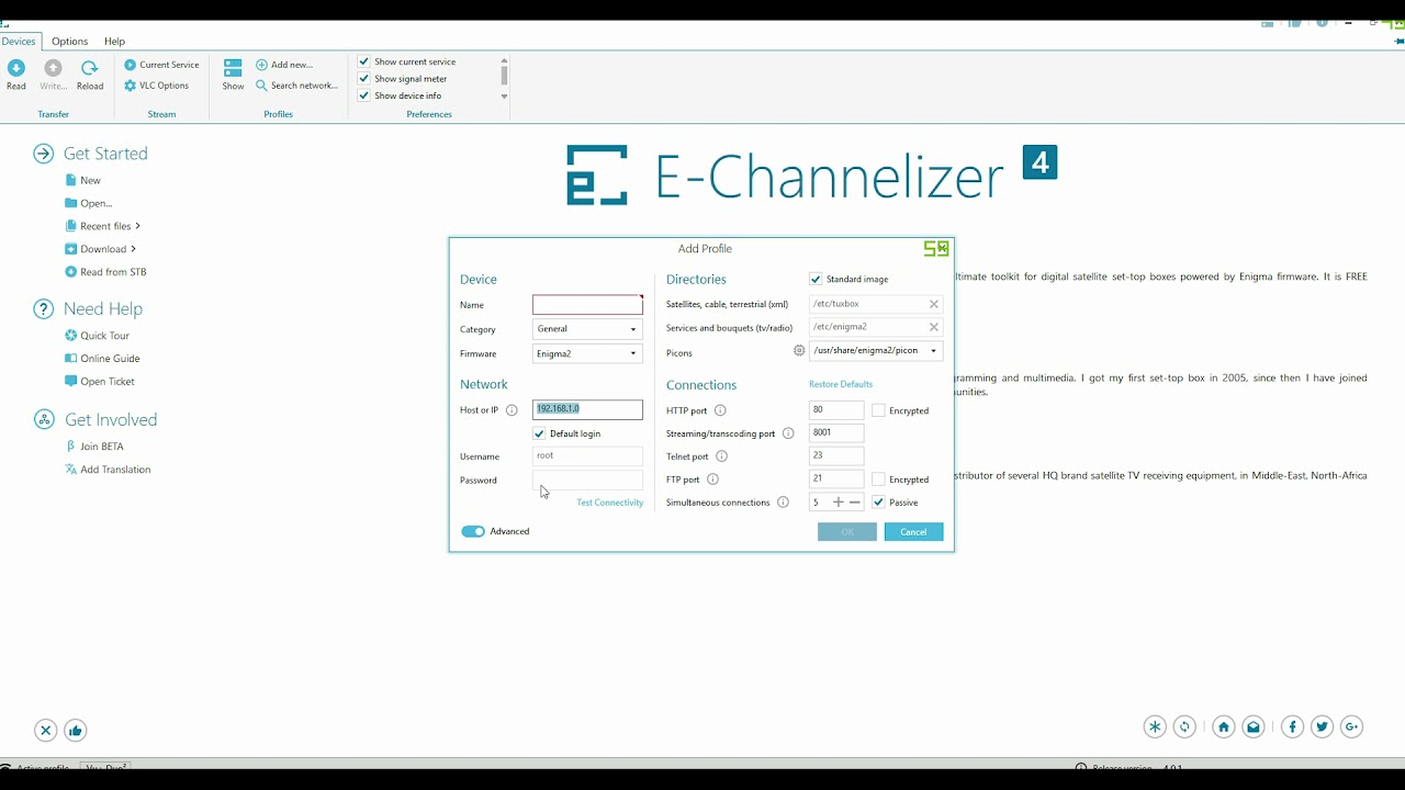 E-channelizer tutorial Quick Set up - YouTube