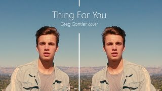 David Guetta & Martin Solveig - Thing For You (Cover by Greg Gontier) | EXCLUSIVE PREMIERE!!