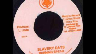 Burning Spear   Slavery Days