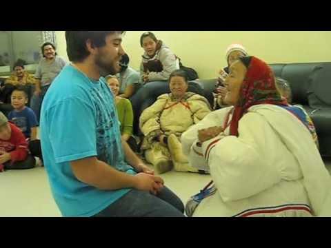 Karim Beat-Boxing and Throat Singing with Elders