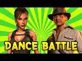 Indiana Jones Vs Tomb Raider Dance Battle EP.1