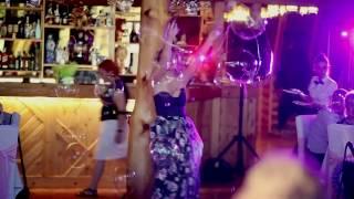 Шоу мыльных пузырей Смоленск wow show свадьба