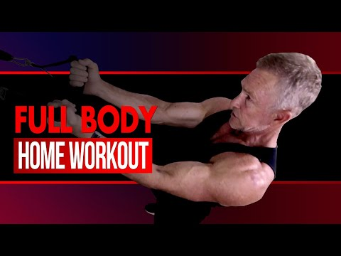 full-body-resistance-band-workout-at-home-for-beginners!