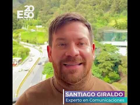 """E2050 COLOMBIA - """"Unidos Por La Resiliencia Climática""""-  Santiago Giraldo"""