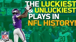 Download The Luckiest & Unluckiest Plays in NFL History | NFL Highlights Mp3 and Videos