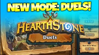 First Look at Nęw Mode DUELS! - Token Druid P1 | Zalae Hearthstone