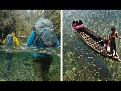 10 Preciosos lugares donde el agua es completamente cristalina