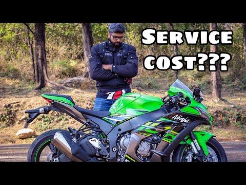 Kawasaki Zx10r First Service   Superbike Maintenance   Malayalam Vlog