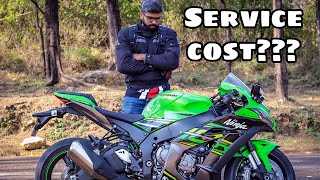Kawasaki Zx10r First Service | Superbike Maintenance | Malayalam Vlog