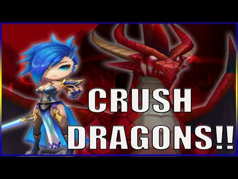 Lapis CRUSHES Dragons!!!! Summoners War Dragons Guide