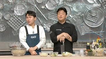 """[백파더 : 요리를 멈추지 마!] """"얇은 거 쓰세요~"""" 콩나물 불고기에 쓰일 고기 추천해주는 백파더🍖, MBC 210220 방송"""
