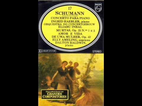 Schumann. Piano concerto in a op. 54. Ingrid Haebler.