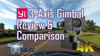 Yi Handheld Gimbal REVIEW & Comparison | 3-Axis Gimbal [4K]