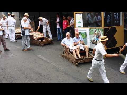 Funchal toboggan ride