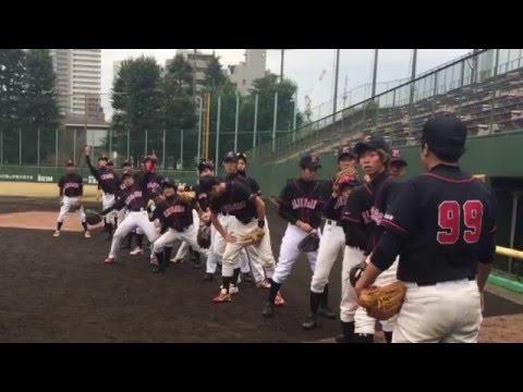 慶應義塾大学軟式野球同好会ブルーズ&レッズ 新歓動画